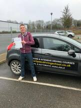 First Time pass in Kings Lynn